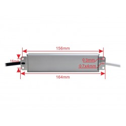 30W  5V/12V/24V  Waterproof Slim