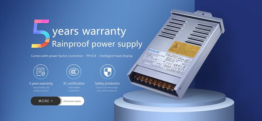 Rain Proof LED Power Supply
